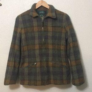 Ralph Lauren Lauren Wool Coat Size 6